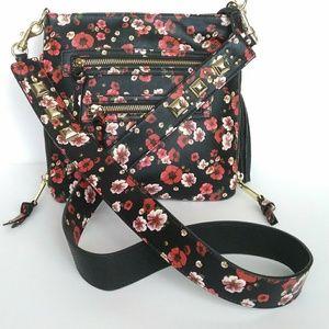Steve Madden Floral Studded Crossbody Bag